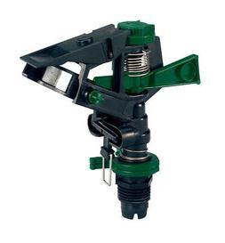 Orbit 1/2 Plastic Impact Sprinkler Head for Lawn Watering