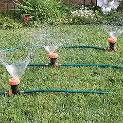 Bandwagon 3 in 1 Portable Sprinkler System with 5 Spray Sett