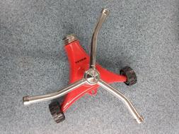 Dramm 10-15050 ColorStorm 3-Arm Whirling Sprinkler - Red or