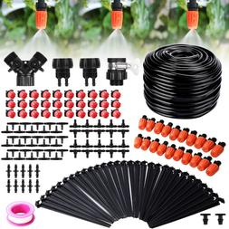 100 Ft Adjustable Garden Automatic Irrigation System Kits W/