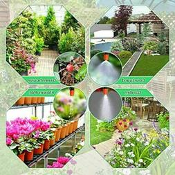 100ft 30M Auto Drip Irrigation System Kit Timer Micro Sprink