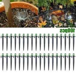 100pcs Garden Drop Irrigation Sprinklers Micro Water Emitter
