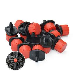 100Pcs/Pack Irrigation Sprinklers Watering Drippers Emitter