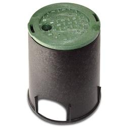NDS 107BC Standard Series Round Valve Box Overlapping Cover-