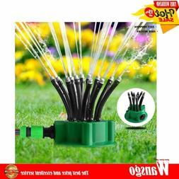 12 Tubes 360° Flexible Lawn Sprinkler Automatic Garden Wate