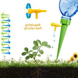 12Pcs Plant Self Watering Adjustable Stakes Automatic Spikes