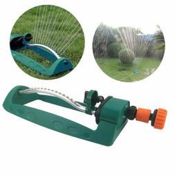 15 Hole Oscillating Garden Lawn Sprinkler Watering Irrigatio