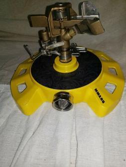 Dramm 15082 Circular Impulse Sprinkler with a Heavy-Duty Met