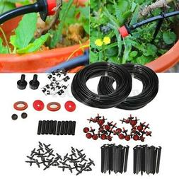 150FT Micro Drip Irrigation Self Watering Automatic System D