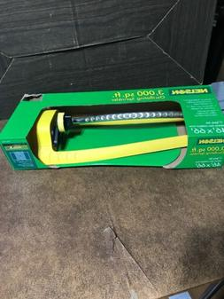 2005 Nelson Spray Oscillating Lawn Yard Sprinkler 3k Square