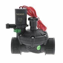 Galcon 24 VAC Electric Sprinkler Valve w/Flow Control-Size:1