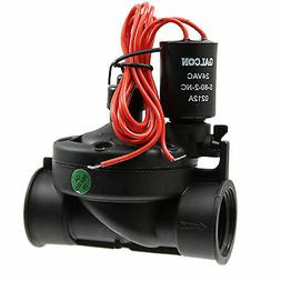 """Galcon 24 VAC Electric Valve w/Flow Control-Size:3/4"""" FPT"""