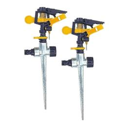 2pcs In Ground Water Sprinkler Garden Lawn Flower Area Water
