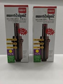 2x Toro Single Stream Lawn Sprinkler 53263  Brand New