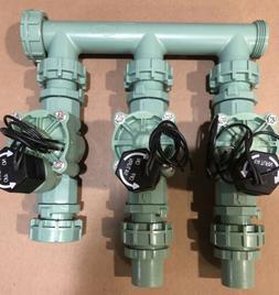 Orbit 3 Valve Sprinkler Manifold System, Irrigation Valves 5