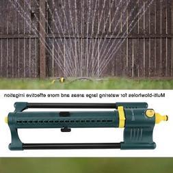 3-Way Adjustments Oscillating Sprinkler For Watering Garden