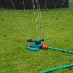 360° 3 Arm Rotating  Automatic Garden Sprinkler Lawn Wateri
