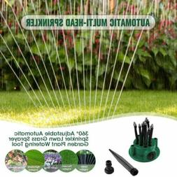360° Adjustable Lawn Sprinkler Automatic Garden Plant Water