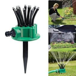 360 adjustable lawn sprinkler automatic garden plant