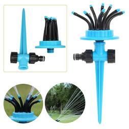 360° Flexible Water Sprayer Lawn Grass Sprinkler Head Garde