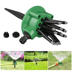 360° Lawn Sprinkler Automatic Rotating Garden Water Sprinkl