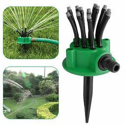 360° Lawn Sprinkler Head Automatic Garden Yard Water Spraye