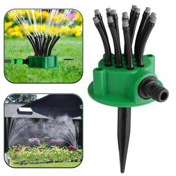 360° Lawn Sprinklers Automatic Watering Sprayer System Nood
