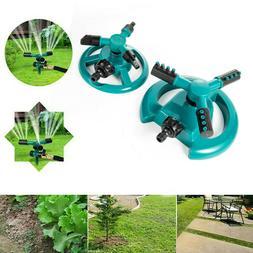 360° Rotating Garden Sprinkler Impulse Lawn Grass Watering
