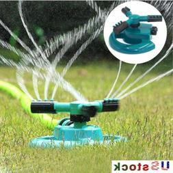 360° Rotating Garden Sprinkler Spray Impulse Lawn Grass Wat