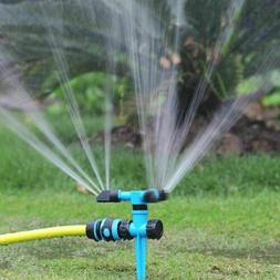 360° Rotating Lawn Sprinkler Automatic Garden Water Lawn Ir