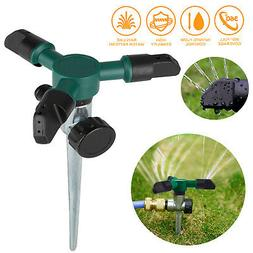 360° Rotating Lawn Sprinkler Garden Water Irrigation System