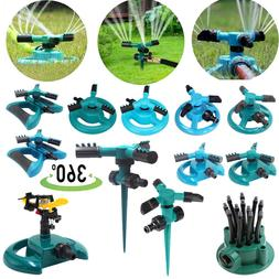 360° Rotating Lawn Sprinkler System Automatic Grass Waterin