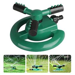 360 rotating lawn sprinkler system automatic grass
