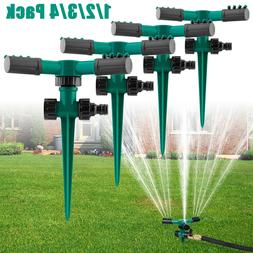 360° Rotating Lawn Sprinklers Garden Auto Grass Watering Sp