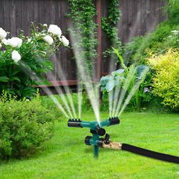 360° Rotating Water Sprayer Lawn Grass Sprinkler Head Garde