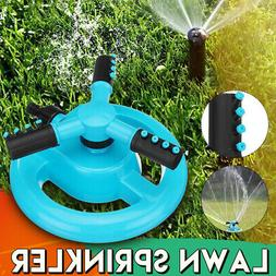 360° Rotating Water Sprinkler Automatic Garden Water Lawn A