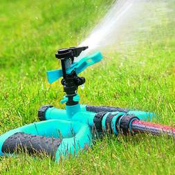 360° Rotation Lawn Sprinkler Automatic Garden Water Sprinkl