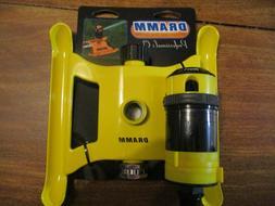 Dramm 4 Pattern Gear Down Sprinkler, Yellow
