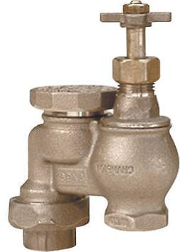 466-075Y Anti-Siphon Valve With Union, Brass, 3/4-In. - Quan