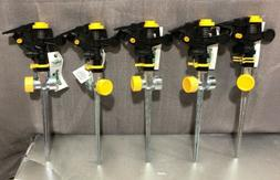 5 x New ! Expert Gardener Impact Sprinklers metal stick
