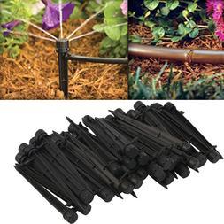 50pcs Flow Irrigation Drippers Plastic Flow Dripper Drip <fo
