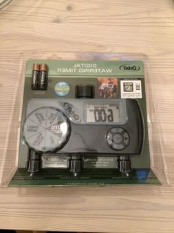 Orbit 56233D 3-Outlet Digital Watering Timer  3 valves