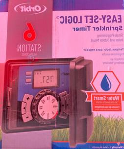 Orbit 57896 6-Station Outdoor Sprinkler System Timer