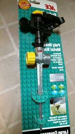 ACE 7021587 Pulsating Sprinkler, Large Coverage, FREE SHIPPI
