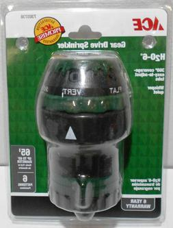 ACE 7303738 H2O-6 Gear Drive Sprinkler, FREE SHIPPING