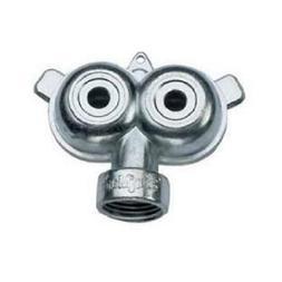 875gt zinc twin circle sprinkler