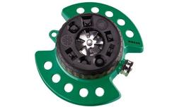 DRAMM 9 Adjustable Settings Sprinkler - Green