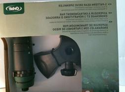 Orbit 91168 3-Pattern Gear Drive Sprinkler, FREE SHIPPING