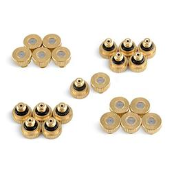 Aootech Brass Misting Nozzles For Outdoor Cooling System 22