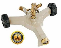 A5004 Garden Hose Watering Heavy Duty Brass Impact Sprinkler